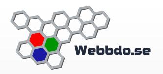webbhotellet webbdo.se